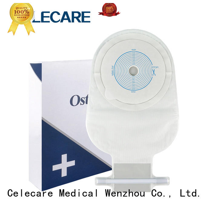 Celecare colostomy pouch easy to use for people with ileostomy