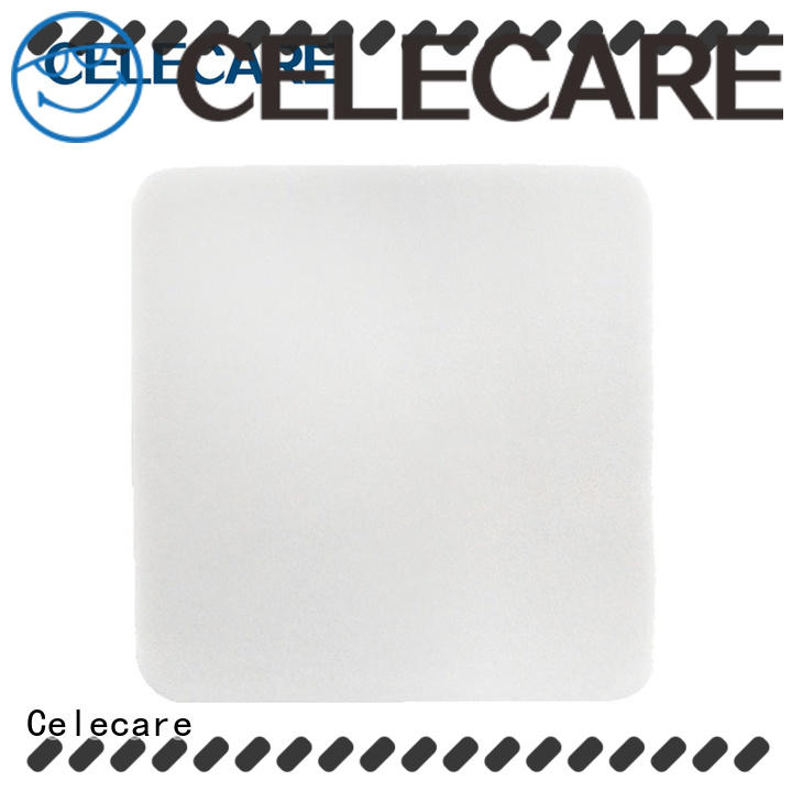 Celecare foam dressing non adhesive directly sale for scar