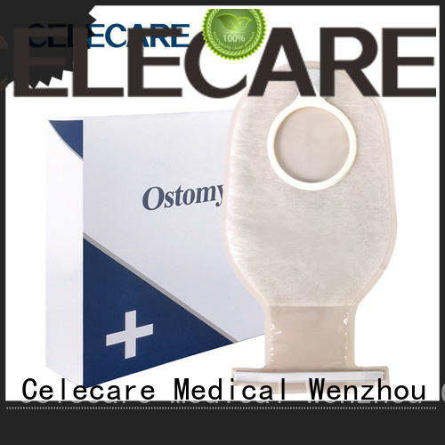 Celecare types of colostomy bag sizes factory price for people with ileostomy