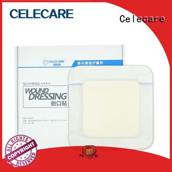 safety hydrogel foam dressing wholesale for wound Celecare