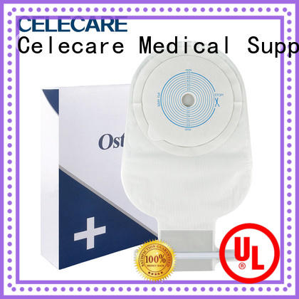 Celecare colonoscopy bag factory price for people with colostomy