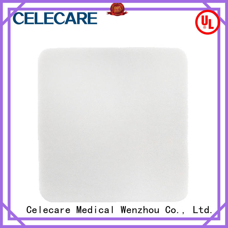 Celecare wound pads customized for scar