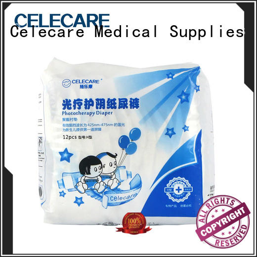 Celecare newborn baby cloth diaper customized for hemolytic disorder