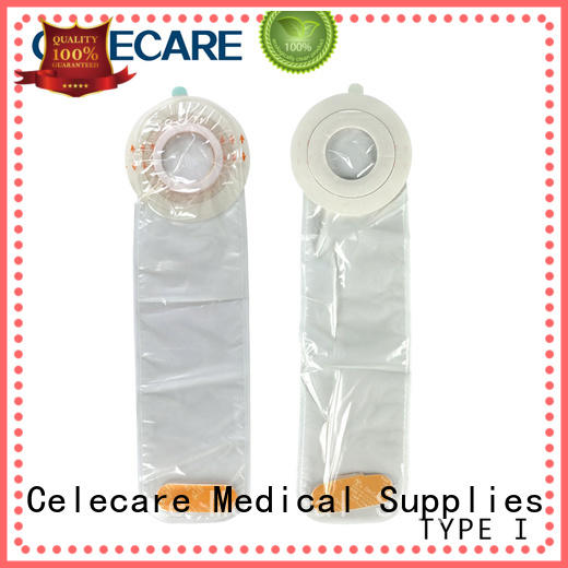 Celecare online catheter cover without corrosive for stoma cleaning