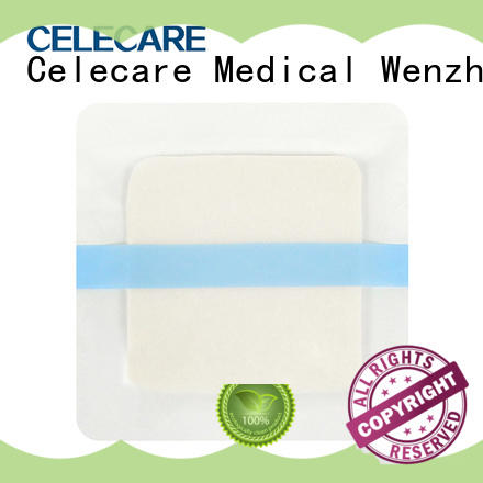online hydrogel foam dressing customized for scratch Celecare