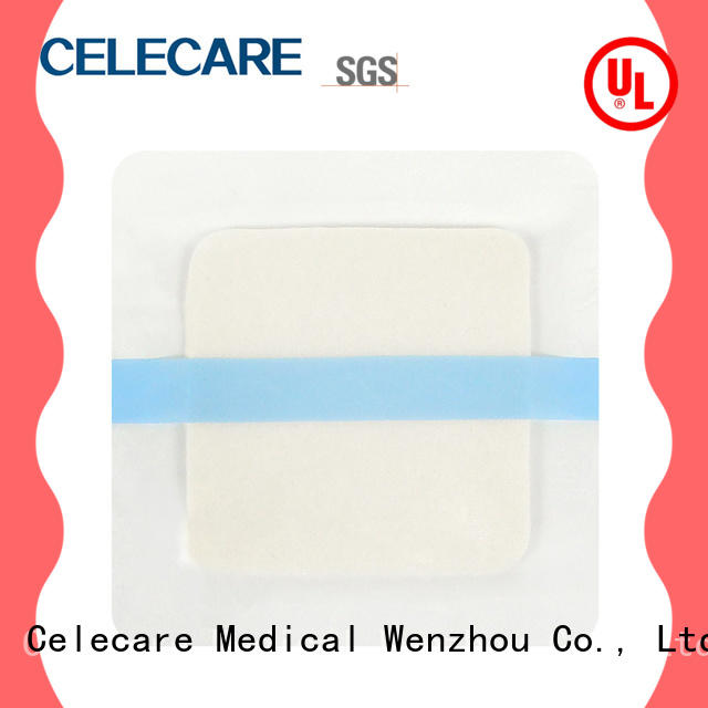 Celecare wound dressing silver customized for injuried skin