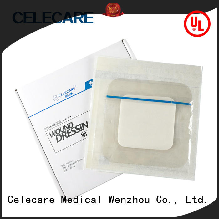 water-proof medicated wound dressings wholesale for scratch Celecare