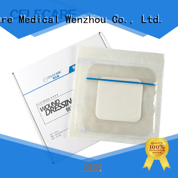 water-proof non-adhesive foam dressing supplier for scar