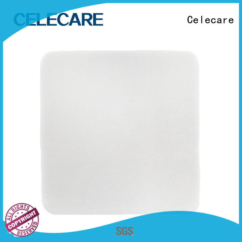Celecare wound pads customized for recovery