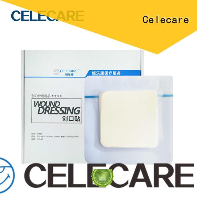 Hydrocolloid foam pressure ulcer dressing from Celecare - B0815