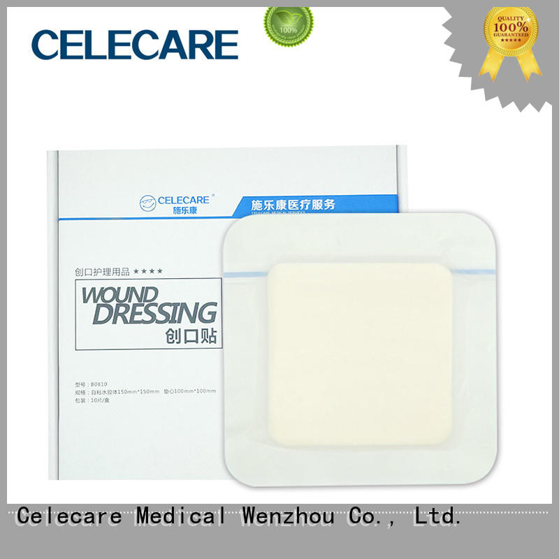 Celecare water-proof tegaderm wound dressing supplier for scratch