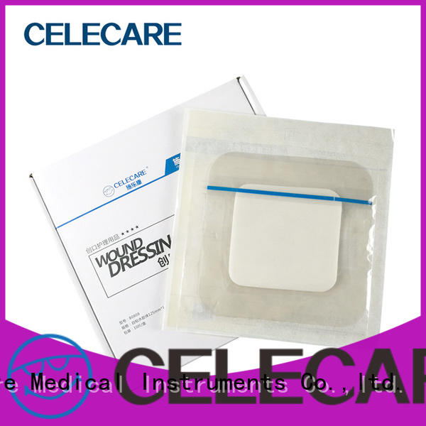 Celecare hot selling wound dressing solution wholesale for scratch