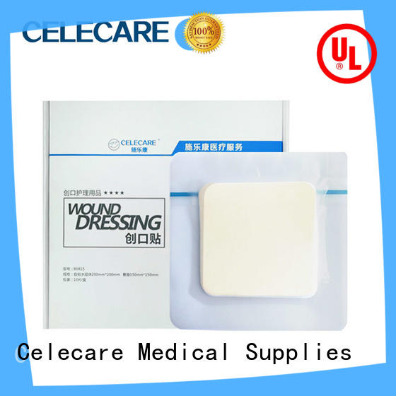 Celecare best value alginate wound dressing factory for injuried skin