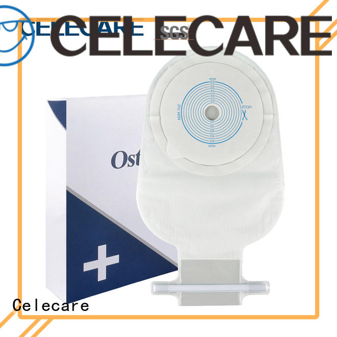 Celecare disposable colostomy bag manufacturer for hospital
