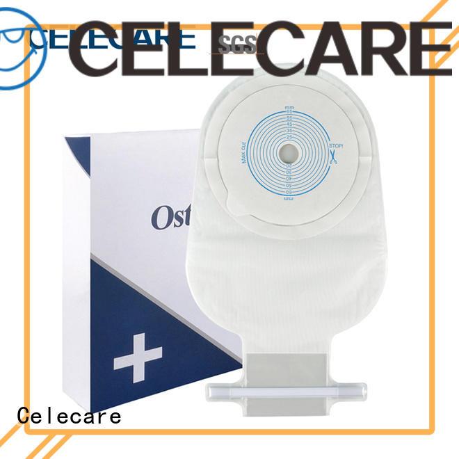 Celecare disposable colostomy bag manufacturer for hospital