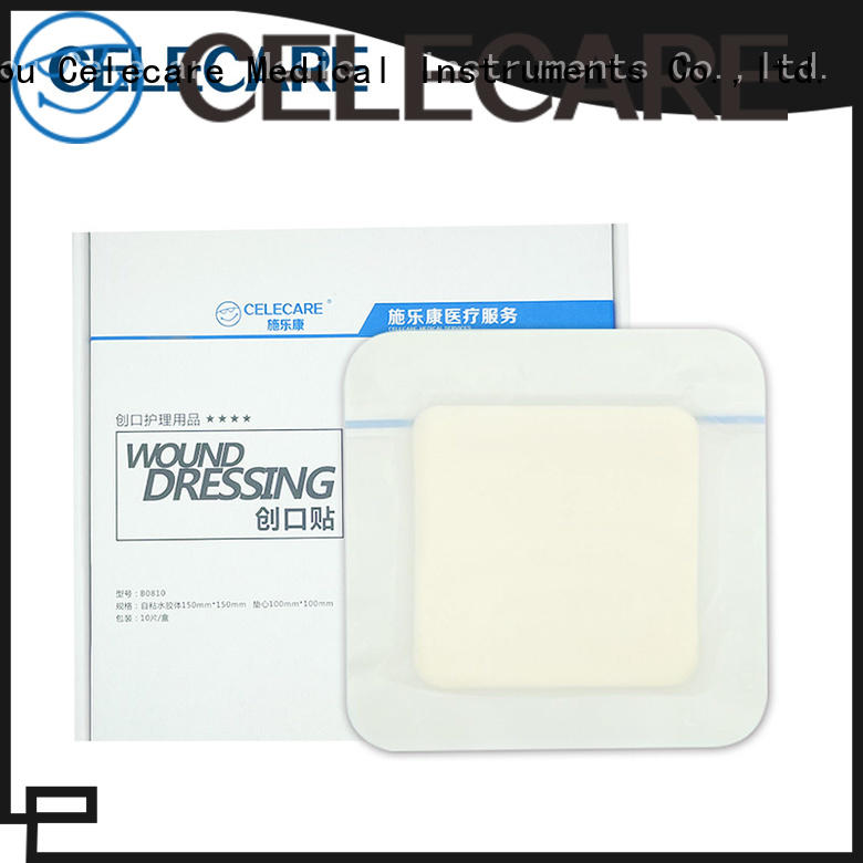 Celecare hypoallergenic wound dressing from China for injuried skin