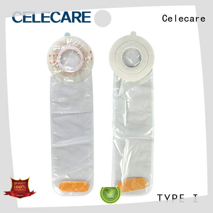 Celecare dialysis catheter shower cover customized for stoma cleaning