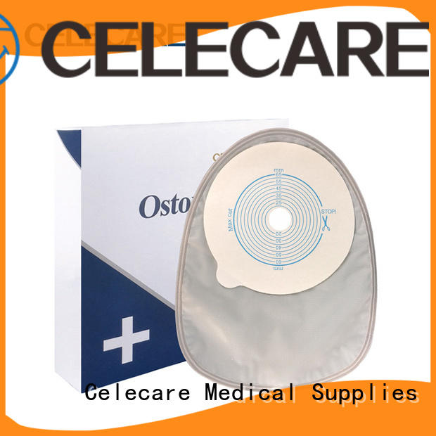 Celecare waterproof ostomy bags best manufacturer for patients