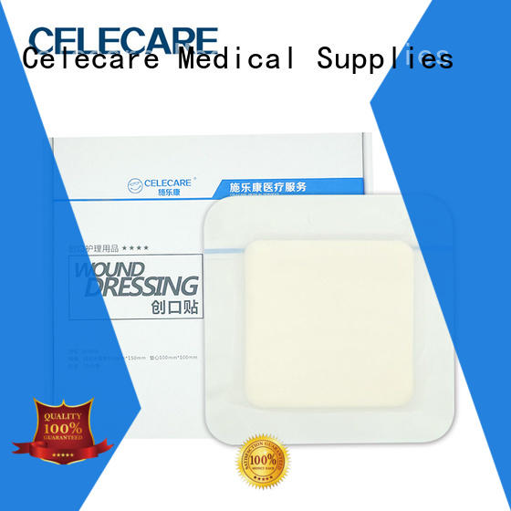 Celecare antimicrobial wound dressing supplier for injuried skin