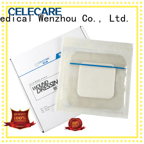 Celecare water-proof wound dressing spray customized for injuried skin