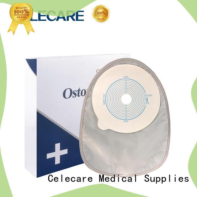 One-piece best ostomy bags, colonoscopy bag from Celecare - C001