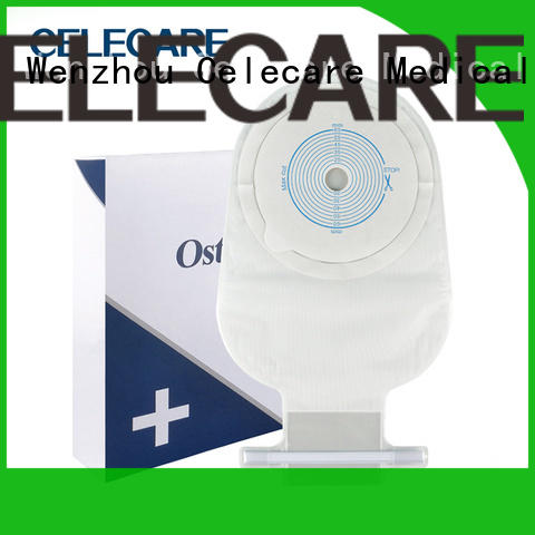 Celecare stomach bag care factory direct supply for people with colostomy