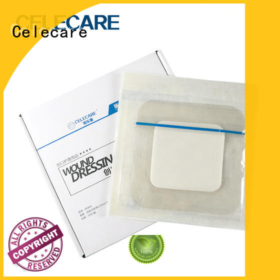 Celecare online wound dressing alginate customized for injuried skin
