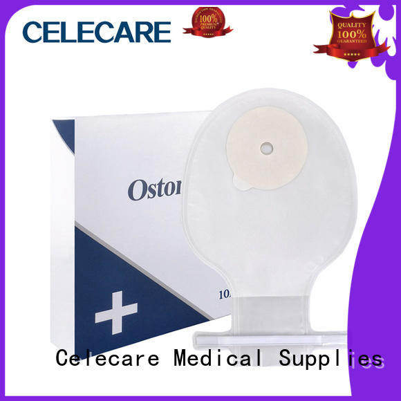 Celecare safety one piece ostomy bag c001 for people with colostomy