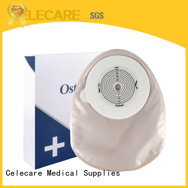 One-piece closed ostomy bag, different types of ostomy bags from Celecare - C003