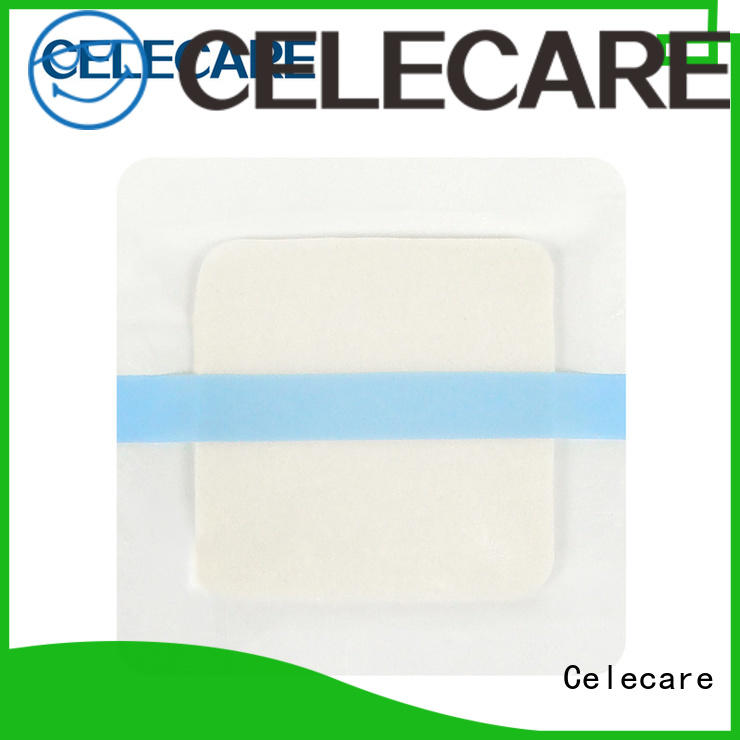 Celecare hot selling hydrocolloid foam dressing supplier for injuried skin