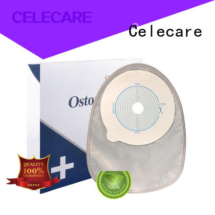 Celecare temporary colostomy bag supplier for people with ileostomy