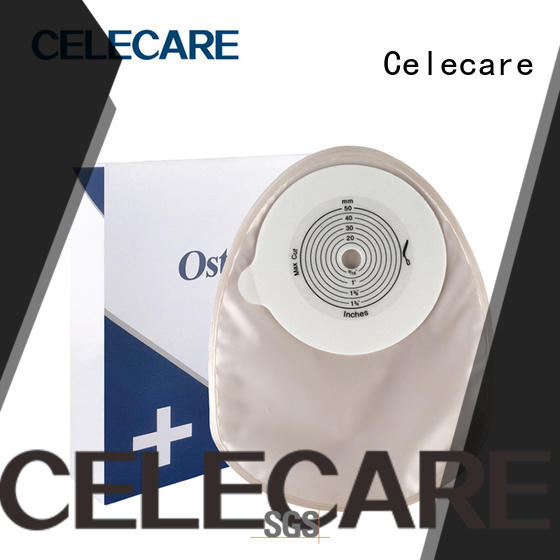 Celecare online colostomy bag sizes manufacturer for people with colostomy