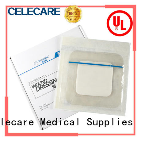 Celecare professional foam dressing factory price for wound