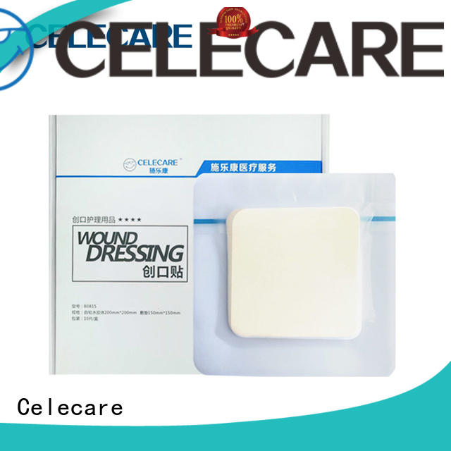 Celecare safety foam dressing wholesale for scar