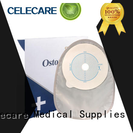 Celecare safety colposcopy bag supplier for people with colostomy