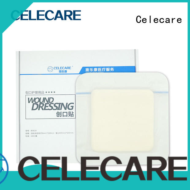 Celecare practical foam-dressing-wound-care factory for recovery