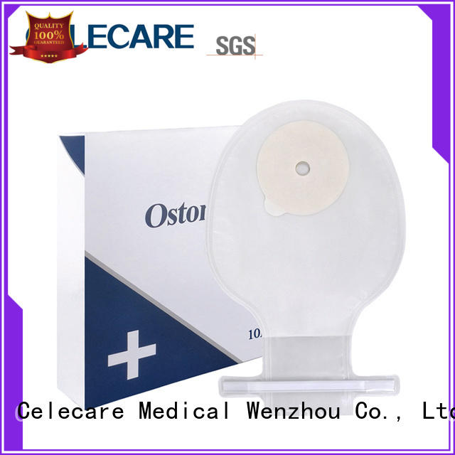 One-piece ostomy bag, open ostomy pouch for children from Celecare - H001