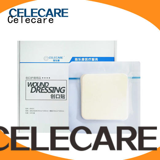 Celecare burn wound dressing wholesale for recovery