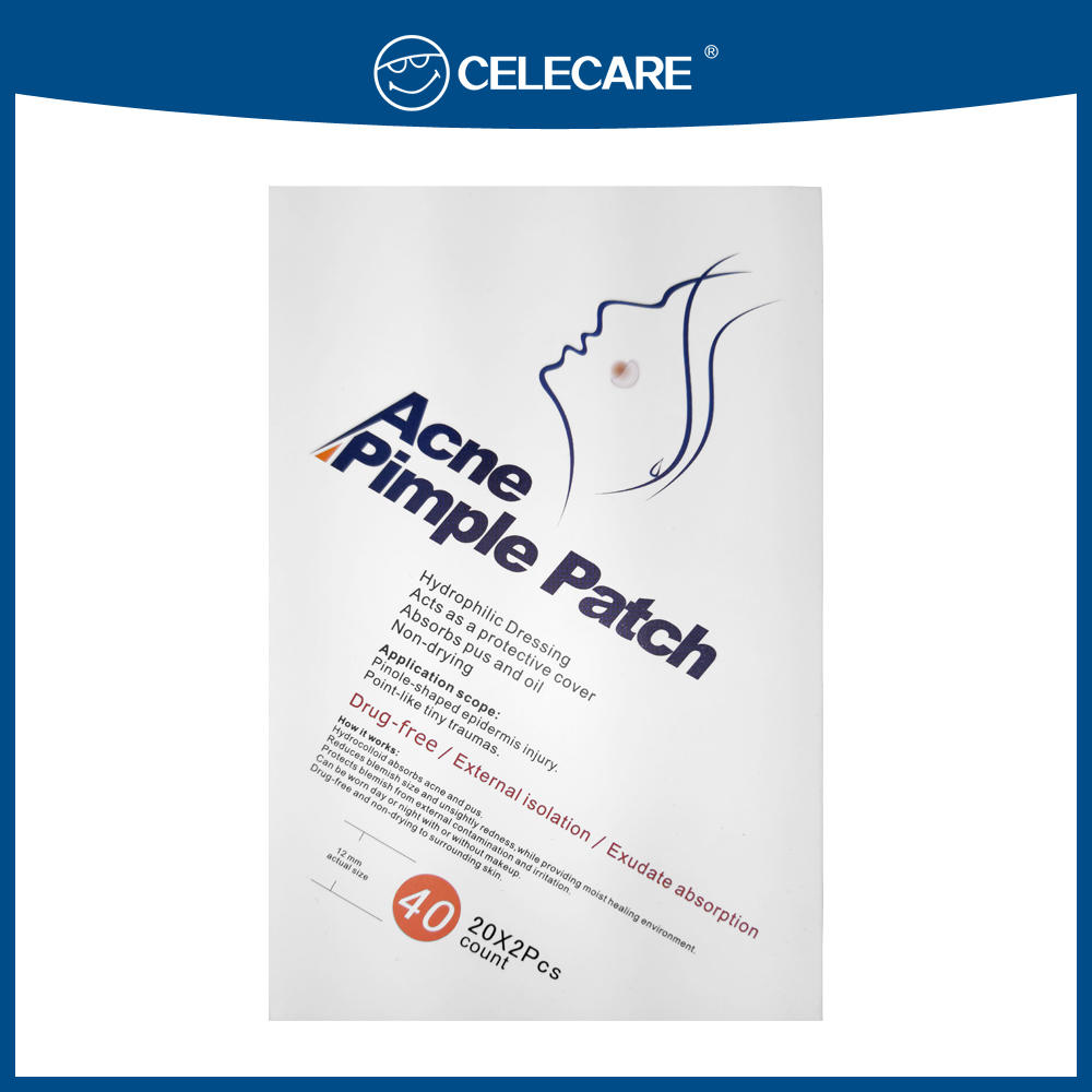 Celecare acne pimple patch, acne healing patch (band-aid)