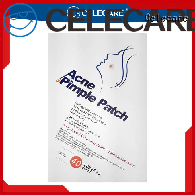 Celecare blister band aid acne factory for women
