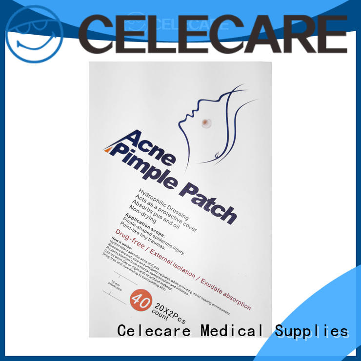 Celecare odm microneedle acne patch manufacturer for adult