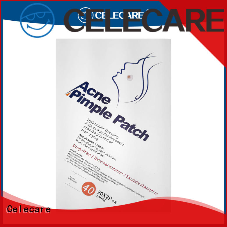 Celecare durable microneedle acne patch suppliers for women